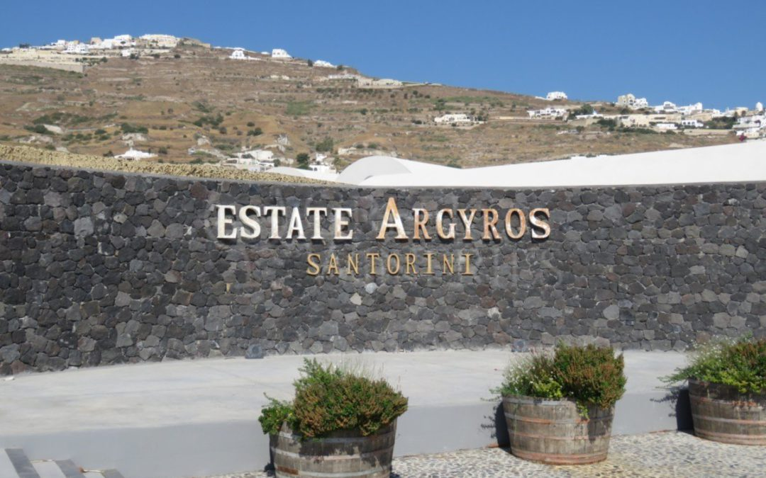 Enjoy World-Famous Santorini Wine At The Award-Winning Argyros Estate!