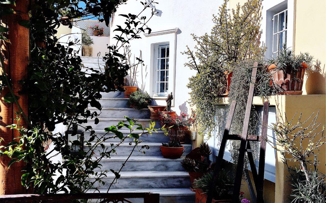 Cypriot Food in Santorini | Great Santorini Views | Kyprida Restaurant