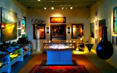 Art in Santorini   Galleries in Santorini   Tzamia-Krystalla Gallery