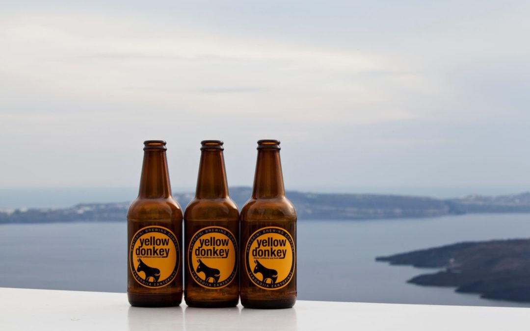 Santorini's Not Just About Wine, Don't Forget To Try Santorini Beer