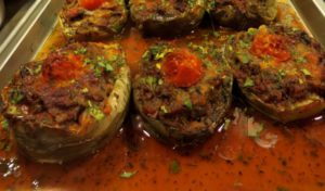 Delicious food in Karterados