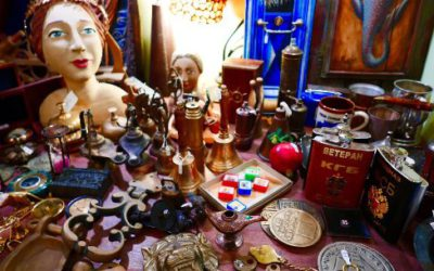 Discover Curios From All Over The World at Epilekton Oia!