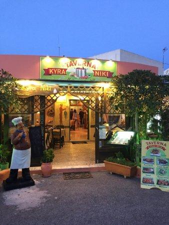Eating in Santorini | Dining in Karterados | Kira Niki Tavern Santorini