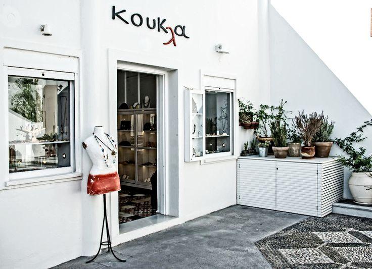 Jewellery in Santorini | Shopping in Santorini | Koukla Art Fira
