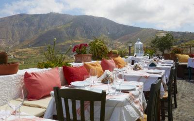 Traditonal Santorinian Food | Dining in Santorini | Metaxi Mas Exo Gonia