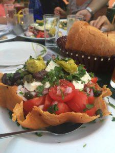 santorini tomato salad