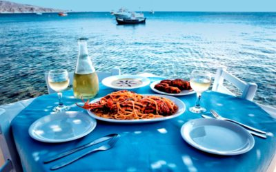 Seafood in Santorini | Dining in Santorini | Dolphins Restaurant Santorini
