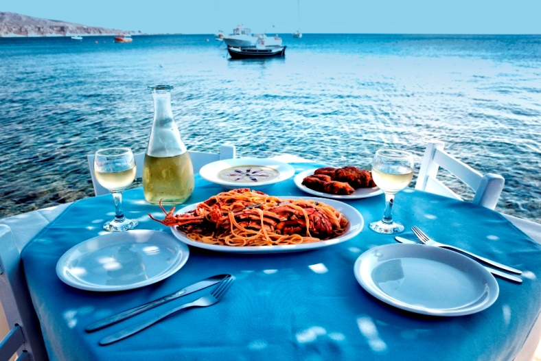 Craving Santorini Seafood? Enjoy A Memorable Dining Experience At The Dolphins!