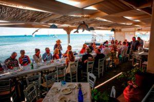 Great seafood Santorini