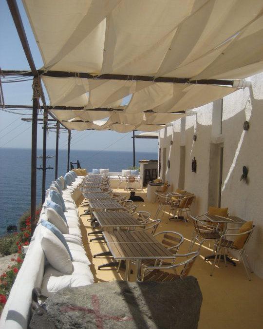 Beach Bar in Oia | Beach Bar Santorini | Katharos Lounge Oia