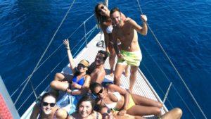 Santorini caldera tour