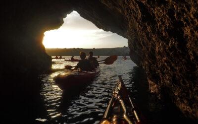 Kayak in Santorini | Sport holiday in Santorini | Water sports in Santorini